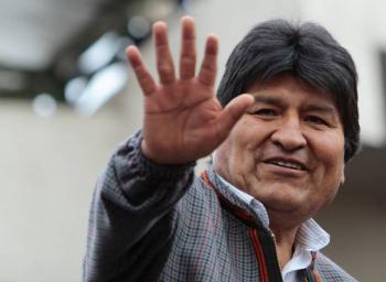 Evo Morales llegará a México alrededor de las 9:00 horas: SRE