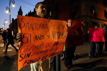 Corresponsales de Notimex demandan su liquidación