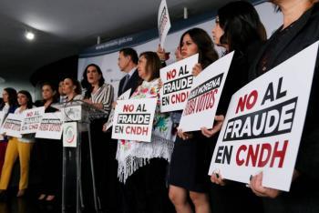 Rechazan la tercera votación para la CNDH