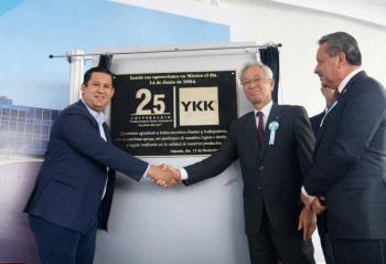 YKK Mexicana celebra 25 años en Guanajuato
