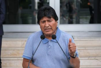Agradece Evo por Twitter al Presidente y pueblo de México