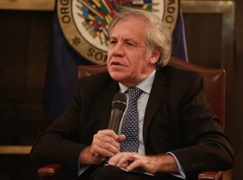 Golpe de Estado se originó con fraude electoral: Almagro