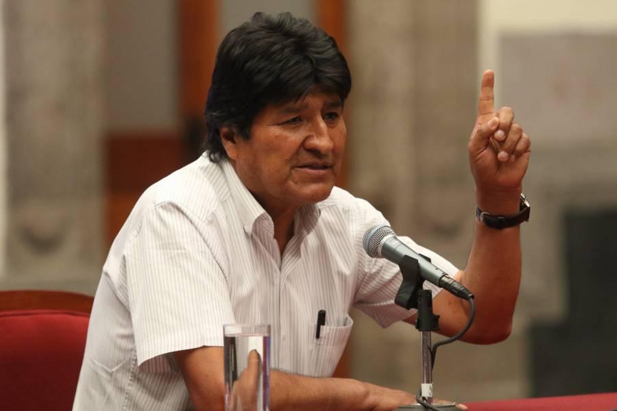 Estamos tristes pero fuertes, señaló Evo Morales