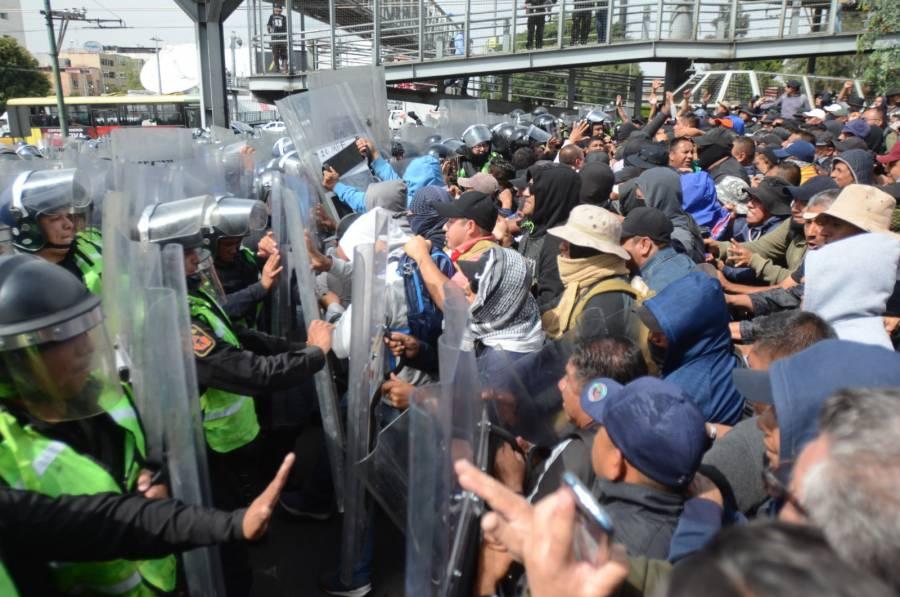 Protesta de policías federales fue una provocación: AMLO