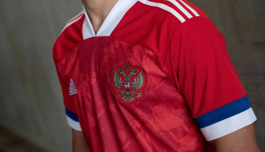 Adidas señalada por error en la nueva camiseta de la selección de Rusia