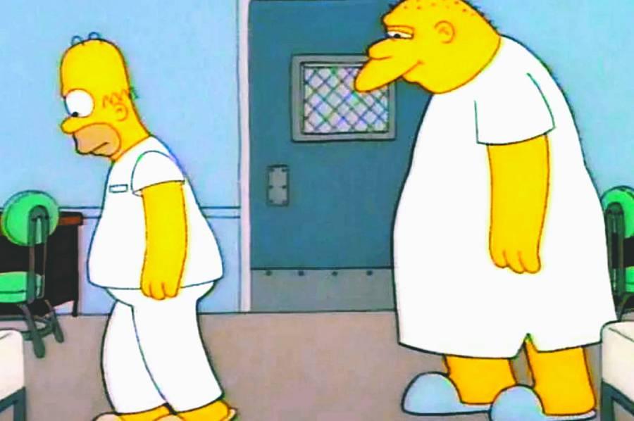 The Simpson retira capítulo con voz de Jackson.