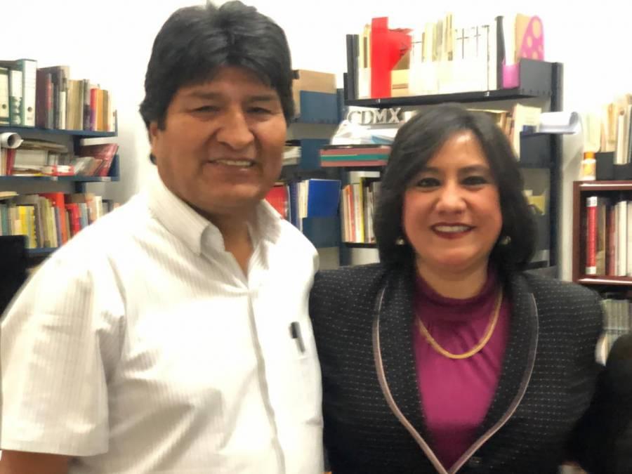 SFP brinda su apoyo a Evo Morales