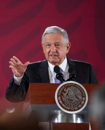 Descarta López Obrador realizar cambios en su gabinete