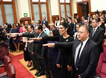 Se integran 25 nuevas juezas a la Corte