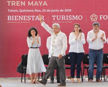 Mañana anunciarán consulta para Tren Maya