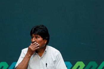 Evo Morales condena reconocimiento de Trump al gobierno de Jeanine Áñez