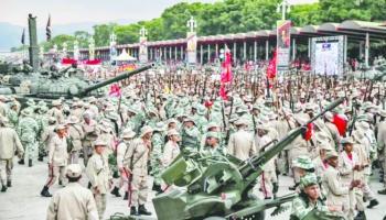Maduro saca civiles armados a las  calles para frenar delincuencia