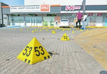 Jornada de violencia deja 11 muertos en Sinaloa; uno era Marino