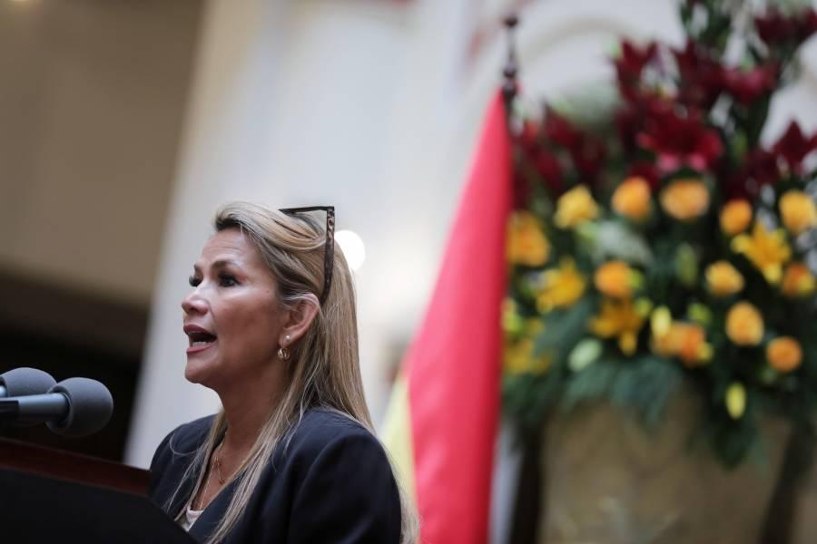 Evo Morales no está habilitado para ser candidato presidencial: Áñez
