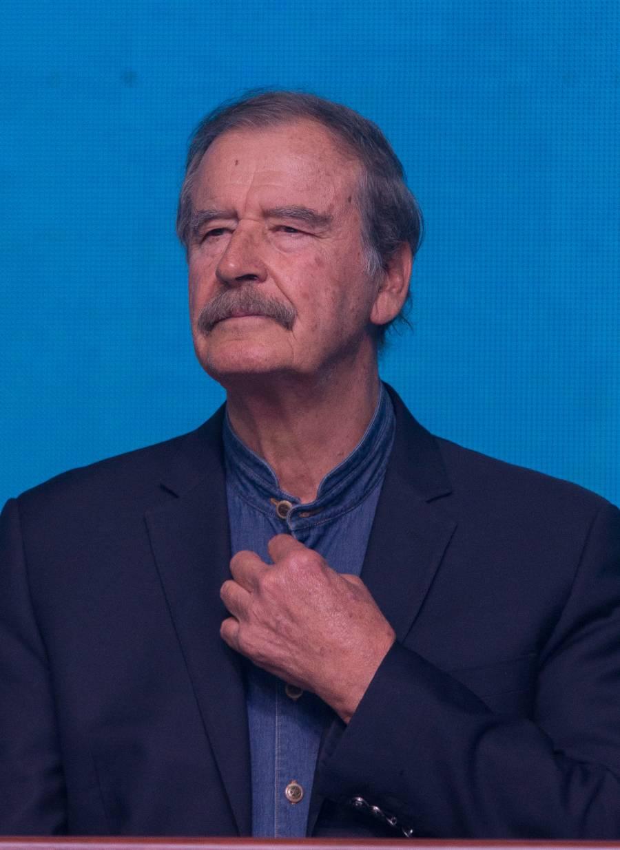 Expresidentes no merecen seguridad, pero prófugos corruptos sí: Vicente Fox