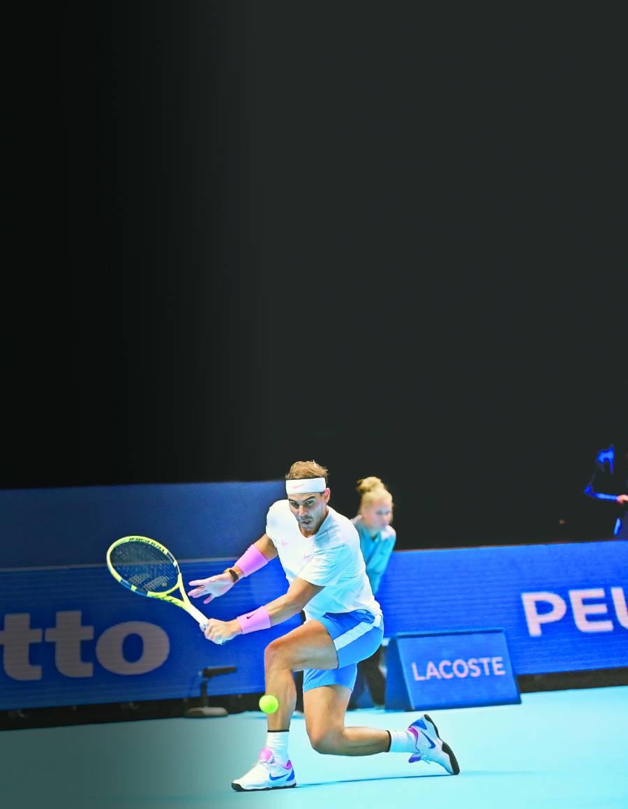 Rafa Nadal se luce con remontada; en duda su pase a las semifinales