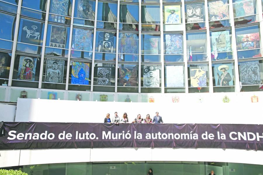 """Rosario Piedra afirma que va por """"reforma profunda"""" en la CNDH"""