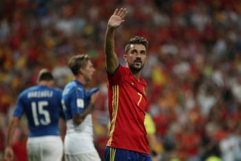 David Villa se retira; generación dorada de España se evapora