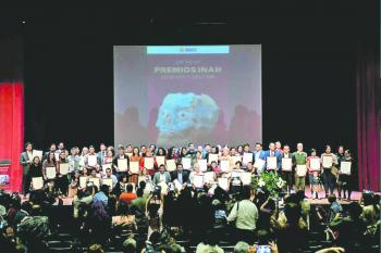 INAH entrega 55 premios de excelencia