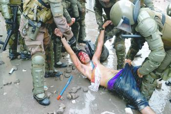 Ni la nueva Constitución  frena protestas en Chile