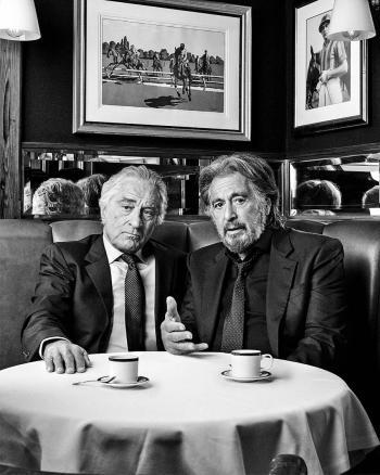 Con De Niro, Pesci y Al Pacino y su gran filme de gánsters , Scorsese camina al Oscar