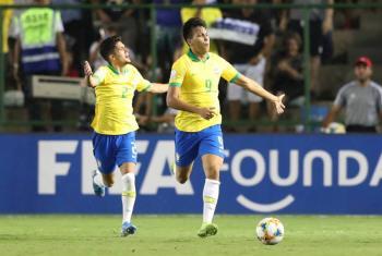 Brasil se verá las caras con México en la final Sub-17