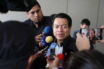 Morena y sus aliados iremos con el proyecto del presidente de la república en torno al presupuesto de egresos: Mario  Delgado