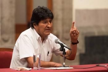 Tomará Jeanine Áñez medidas ante declaraciones de Evo en México