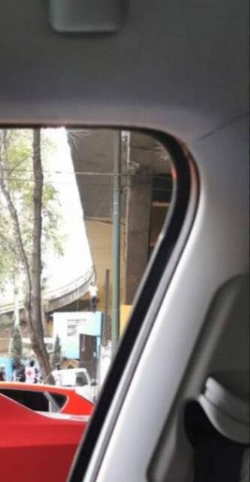 Reportan hombre colgado en puente vial de la alcaldía Miguel Hidalgo