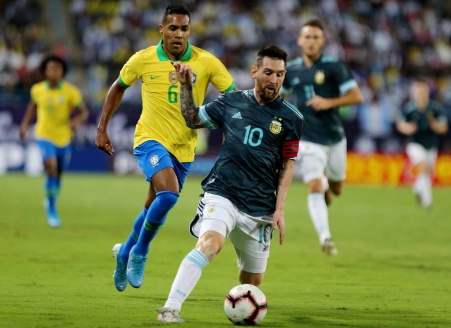 Messi vuelve y anota en el triunfo de Argentina sobre Brasil