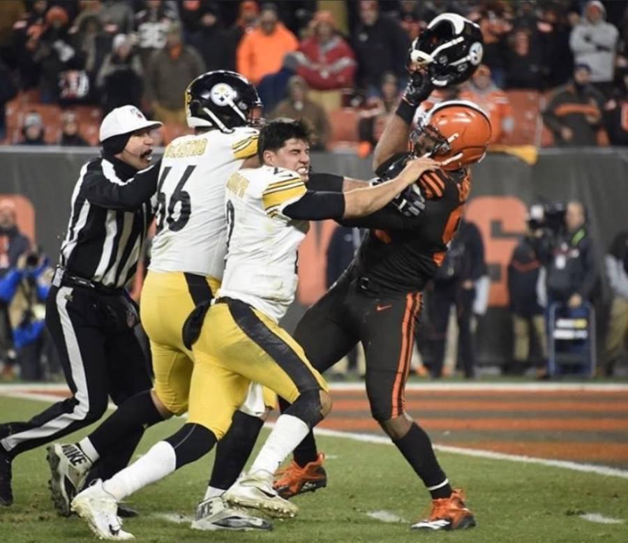 NFL suspende a Myles Garrett