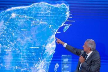 Consulta de tren maya será el 15 de diciembre; será vinculatoria, dice AMLO