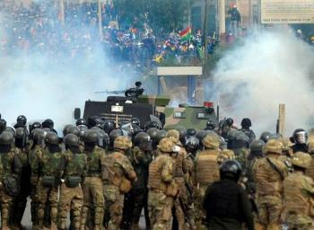 Reportan cinco muertos por manifestaciones en Cochabamba, Bolivia