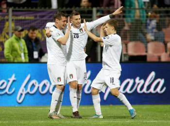Italia vence a Bosnia y mantiene paso perfecto rumbo a la Eurocopa 2020