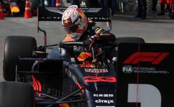 """Verstappen vuela y obtiene la """"pole"""" rumbo al GP de Brasil"""