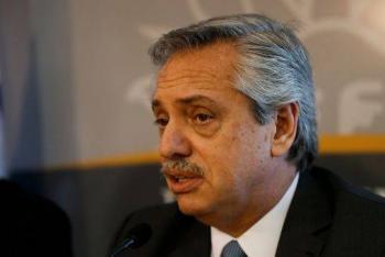Alberto Fernández califica como penosa la gestión de Luis Almagro