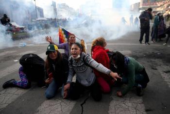 Suman nueve los muertos en Bolivia tras protestas