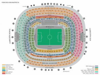 El Estadio Azteca Listo para el Chiefs vs Chargers