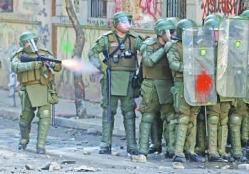 Instituto chileno de DH alista  demanda contra Carabineros