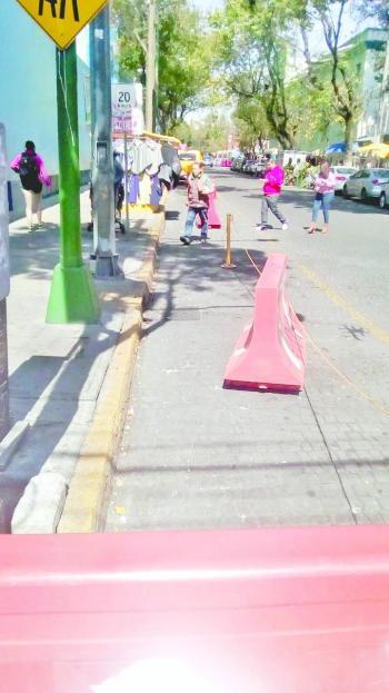 Amagan vecinos con endurecer protestas por parquímetros