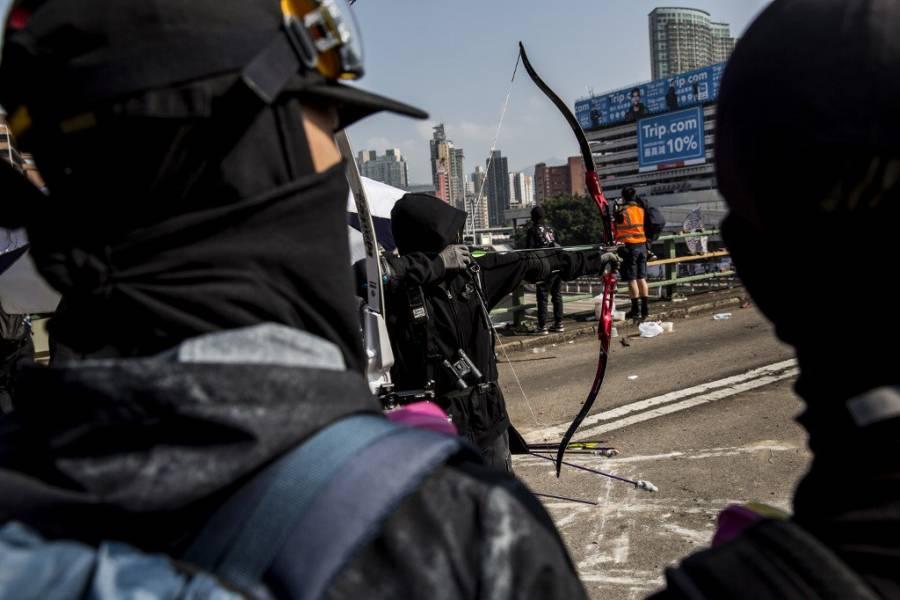 China advierte parar disturbios en Hong Kong