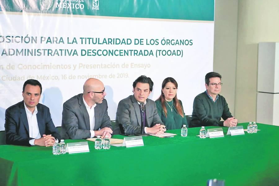 Delegadosya no podráncomprar medicinas: IMSS