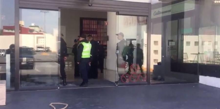 Asalto deja un herido en Plaza Universidad