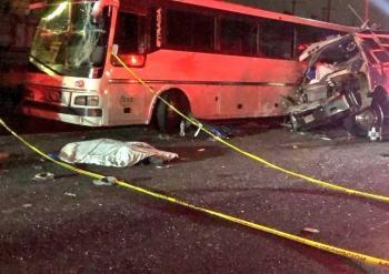 Fuerte accidente en la México-Pachuca deja al menos 11  muertos y 30 lesionados
