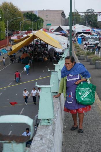 Alistan un nuevo esquema financiero para manifestantes campesinos