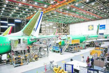 Airbus gana feria en Dubái, pero Boeing vende un 737 MAX
