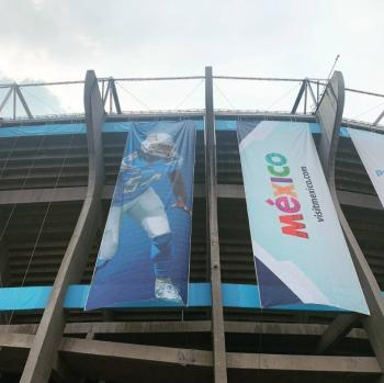 Listo operativo vial por juego de la NFL en el Azteca