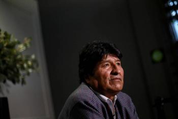 Evo Morales agradece apoyo a Bernie Sanders