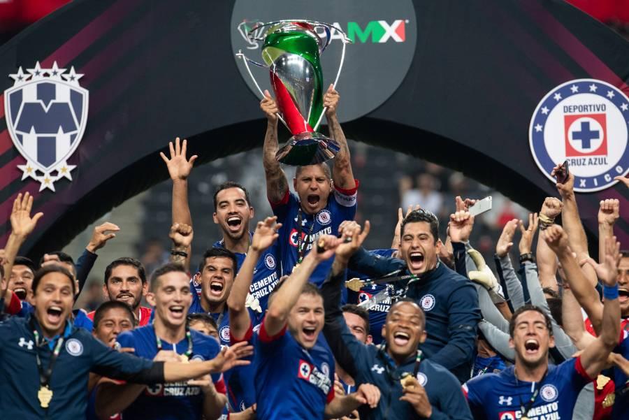 Cruz Azul conserva protagonismo con 16 finales en torneos cortos