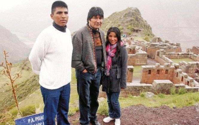 Hija de Evo pide asilo en la  embajada de México en Bolivia